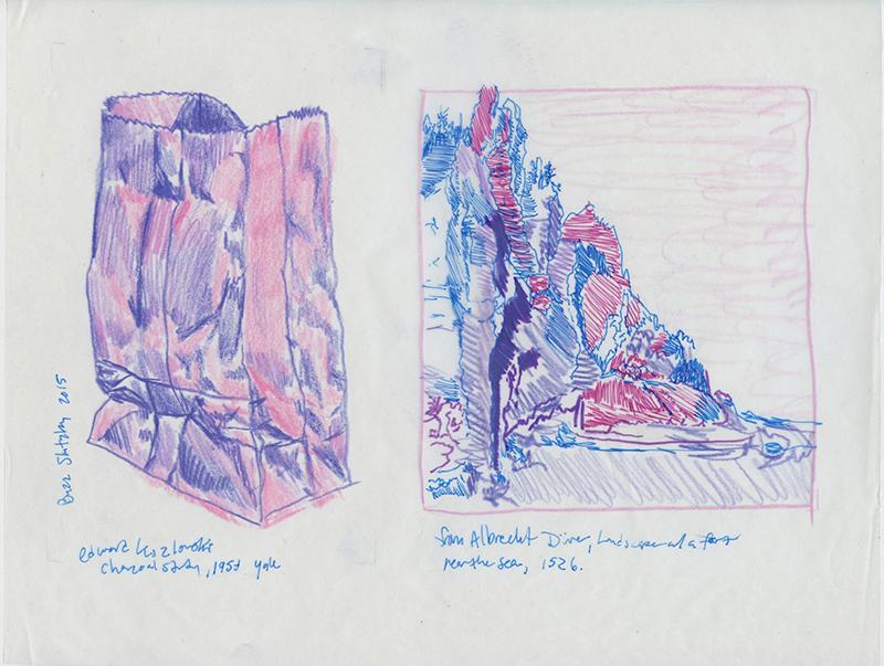 Buzz Slutzky - purple color study