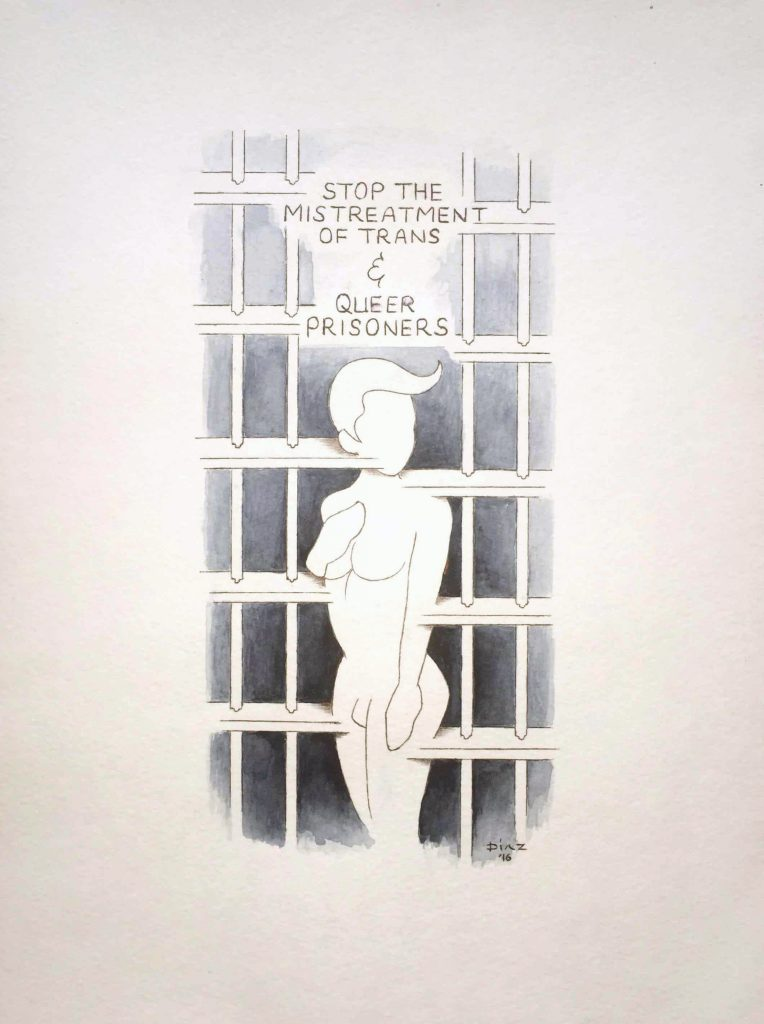 J Diaz - Stop the Mistreatment of Trans and Queer Prisoners