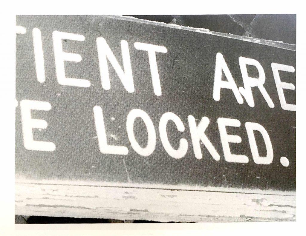 Susan Spangenberg - Patrient Area Keep Gate Locked